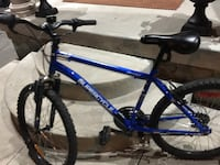 Blue and black hardtail mountain bike Brampton, L6R 3M6