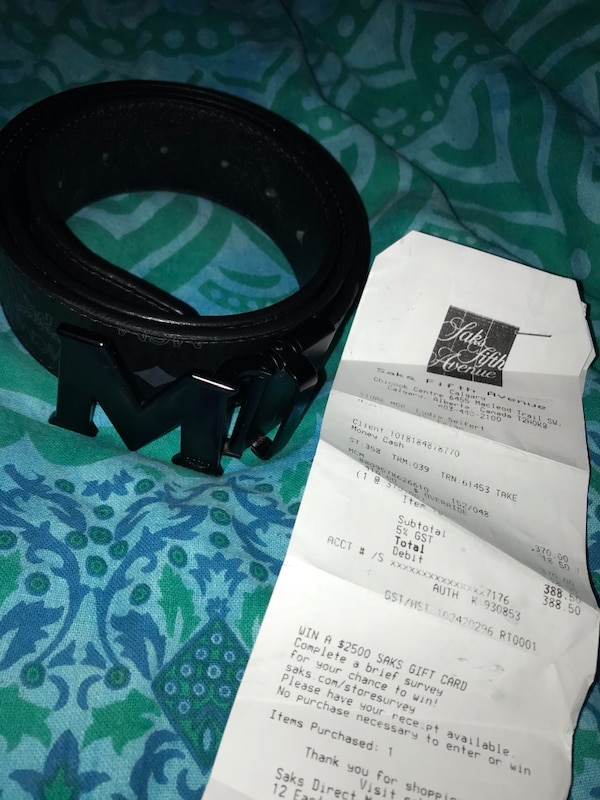 158fdca0666 Used Authentic MCM belt for sale in Calgary - letgo