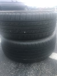 2 tires 215/55r17 life %80 $50 Sterling, 20166