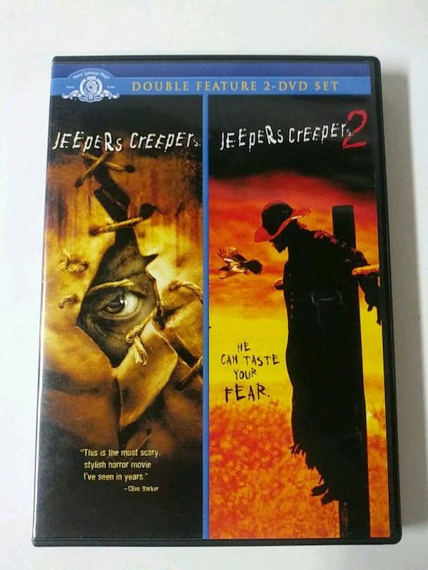 Jeepers Creepers 1 and 2 dvd