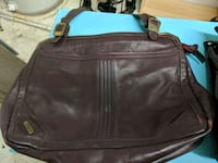 Vintage 80s Leather Philippe bag