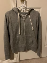 Grey zip up hoodie size small New Westminster