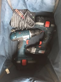 Black and gray cordless power drill Kelowna, V4T 2M1