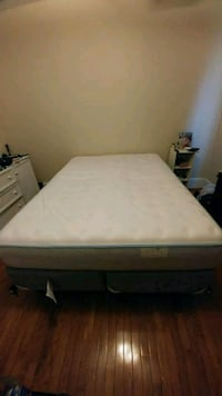 Queen  Back Supporter Mattress and Boxspring