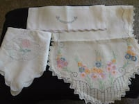 Embroidered Table/Dresser Scarves Columbia