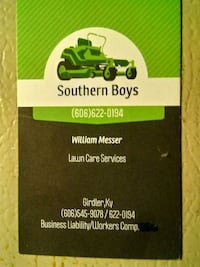 Southern Boy's Lawn Care Services Cannon