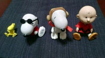 Peanuts Ceramic Figurines Snoopy Charlie Brown