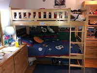 Wooden Bunk Beds (Negotiable) Framingham, 01702