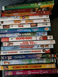 ssorted kids DVD Stratford