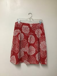 Women's FOSSIL fully lined skirt with side zipper… Size 4