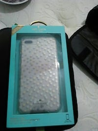 white and blue iPhone case Norman