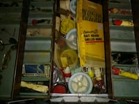 Old tackle box Claxton, 30417
