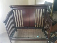 black and brown wooden crib Tucson, 85713