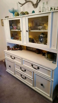 Cream & Yellow Buffet/Hutch Maple Ridge, V2X 6J7