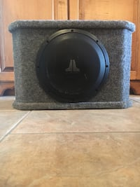 JL Audio 10in subwoofer w/enclosure Youngsville, 70592