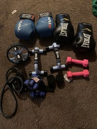 Boxing workout equipment
