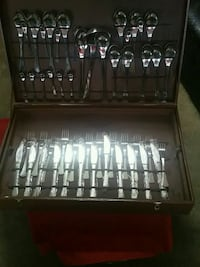 stainless steel cutlery set with box Toronto, M6A