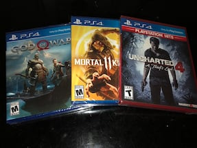 PS4 Games Triple Pack (Brand New)