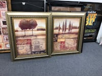 Beautifully framed pictures. Set of 2