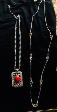 Chico's necklaces sold together or separately. Originally paid around 80 each.  290 mi