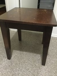 Wooden side table  Whitby, L1P 1B7