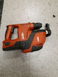 red and black Hilti cordless hand drill 3748 km