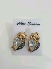 SPARKLY OWL Earrings Mississauga, L5K 2R4