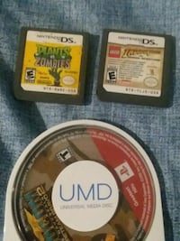 Nintendo DS games and PSP game Rossville, 30741