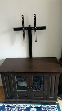 brown wooden tv stand cabinet and mount Ontario, K1C 1Y2