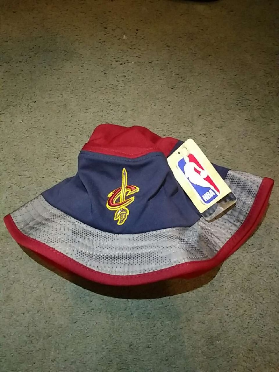 7b25e92ebae sweden blue red and grey cleveland cavaliers bucket hat 38430 b5147