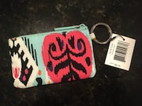 NEW Vera Bradley Zip ID Case College Park