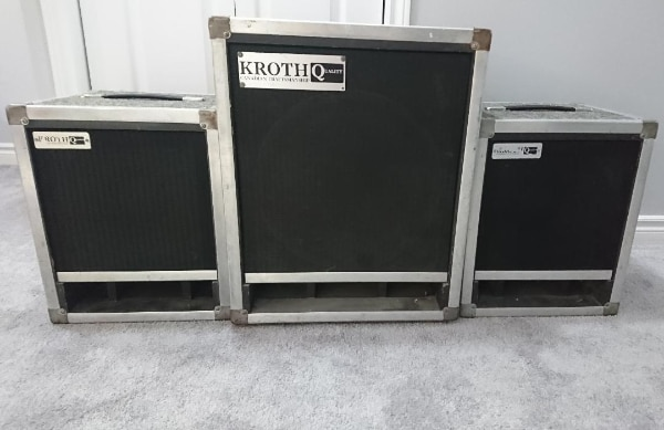 Kroth 1x12 & 1x15 Thiele Guitar Cabinets
