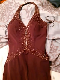 brand new evening gown with tags on