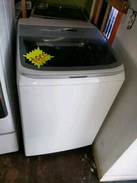 white top-load clothes washer Long Beach, 90815
