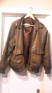 Men's Size 38 Leather Jacket