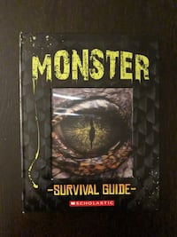 Monster - Survival Guide (Hard Cover) Vaughan