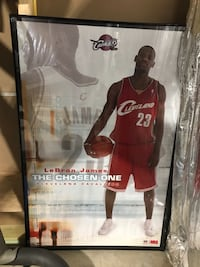 Young Lebron James Framed photo Jessup, 20794