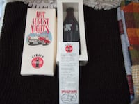 1993 Coca Cola Hot August Nights collectible Bottle Galt