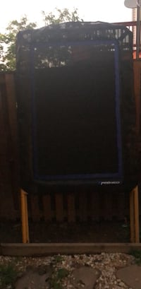 Black and blue and orange rebounder Chantilly, 20152