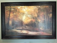 brown wooden framed painting of trees Washington, 20024