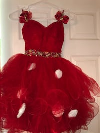 Red cocktail dress Los Angeles, 90022