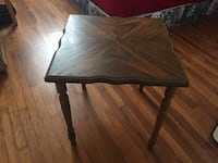Solid wood table  Vancouver