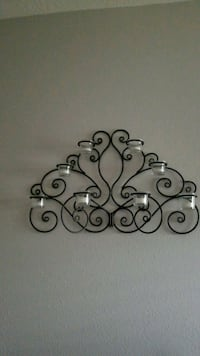 Metal wall candle holder Katy, 77449