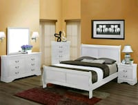 [Monthly Special] Louis Philippe White Solid Wood  Missouri City, 77489