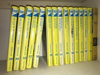 15 Vintage Nancy Drew Mystery 1968-1998 books
