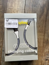 Micro USB Android charging cable 6ft cellphone, speaker or any device