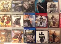 (15) PS3/PS4 Games $ (2) Controllers Call of Duty Lot Woodburn, 97071