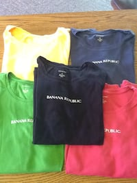 five assorted Banana Republic crew-neck shirts Salina, 67401