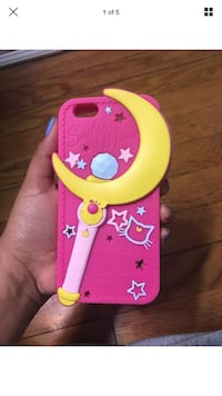 Pink and yellow sailor moon case for IPhone 6,7,8 Silver Spring, 20901