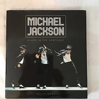 """NEW Michael Jackson """"A Life in the Spotlight"""" HARDCOVER Pointe-Claire"""